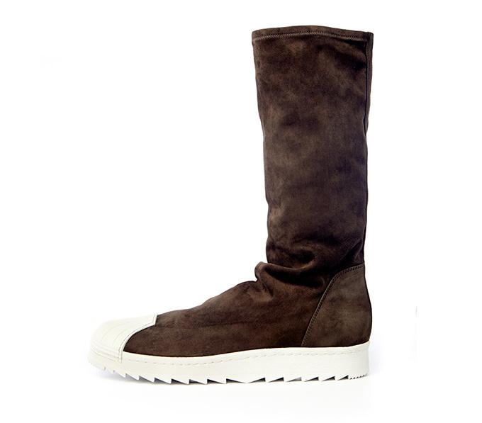 adidasとリック・オウエンスのコラボ商品 リップル ブーツのNewバージョン