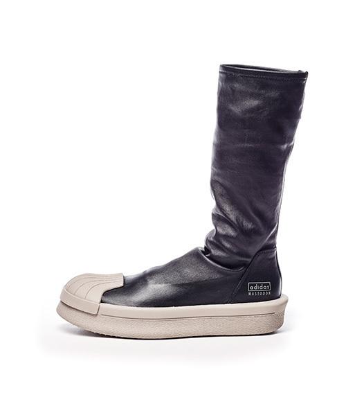 adidasとリック・オウエンスのコラボ商品 マストドン ストレッチブーツ