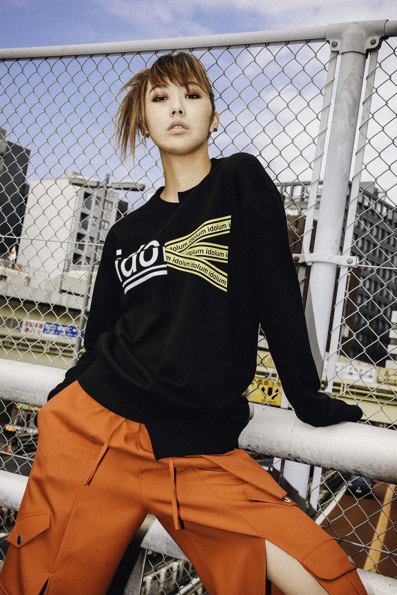 中川愛理沙のファッション写真