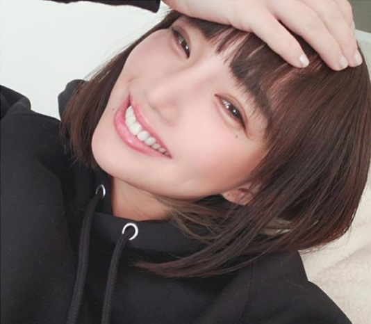 保坂玲奈の笑顔