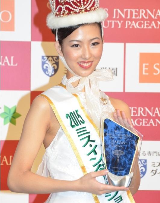 中川愛理沙のミスインターナショナル日本代表