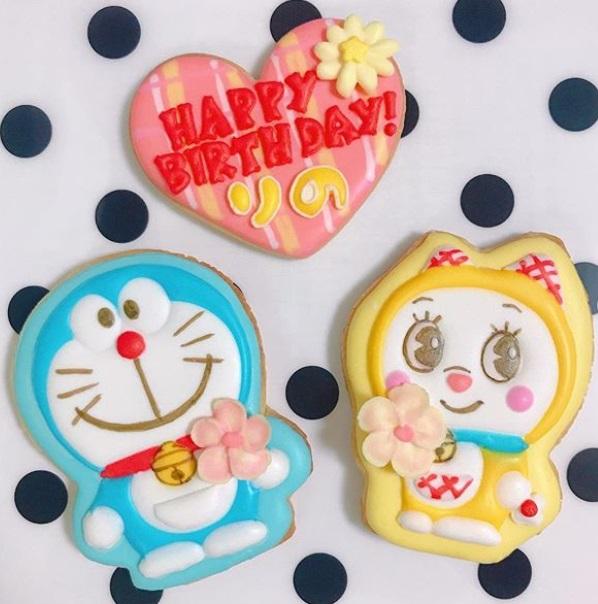 サキ吉さんのアイシングクッキー
