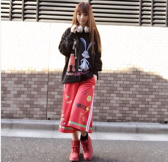 idolumを着用したYuki